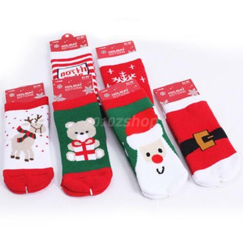 Kinder Babysocken Söckchen Kindersöckchen Weihnachten 6 Form 1-3Y