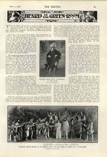 1906 Miss Milly Lindon Opera Tenors Dognies Nietan Conrad
