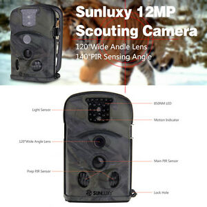 Hunting Camera Scouting Trail 12MP Little Acorn Ltl 8210A 940NM Security Cam+8GB