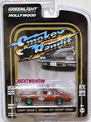 1:64 Greenlight Hollywood SMOCKEY /& Bandit Pontiac Lemans sceriffo Buford auto