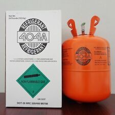 R404a Refrigerant in 24lb Disposable Tank