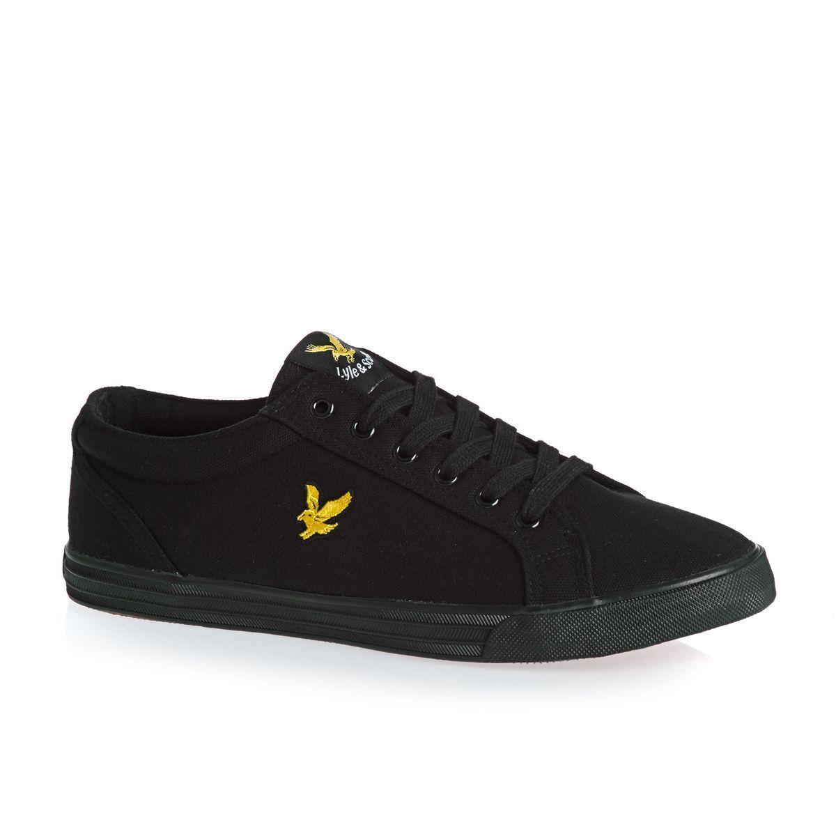 Lyle & Scott scarpe da ginnastica Uomo, Lyle e e e Scarpe di tela Scott POMPE-NERO Taglia 6-12 | Una Grande Varietà Di Prodotti  | Uomini/Donne Scarpa  3dbe5a