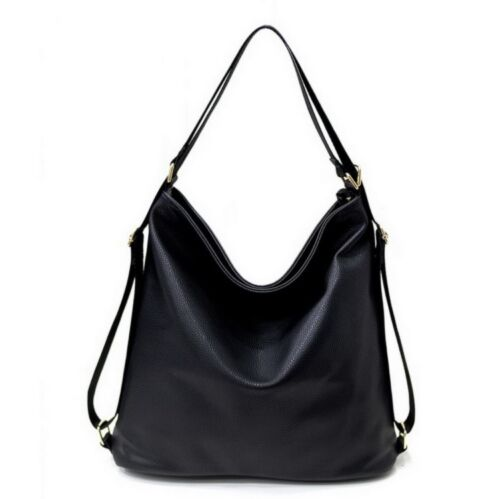 Women PU Leather Shoulder Bags Ladies Fashion Hobo Style Handbags or Backpack