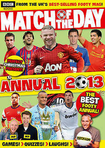 Match-of-the-Day-Annual-2013-Annuals-2013-Match-of-the-Day-Magazine-Good