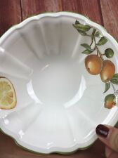 "Villeroy & Boch CASCARA rice Bowl 7.25"" X 3"" Discontinued Pattern Collectible"
