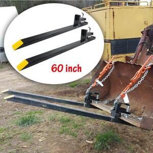 60-039-039-HD-Large-Capacity-Clamp-on-Pallet-Forks-Loader-Bucket-Skid-Steer-Tractor-US