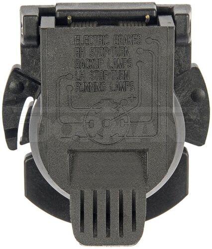 99-12 SILVERADO 1500   TRAILER HITCH ELECTRICAL CONNECTOR PLUG-7 WAY  924-307