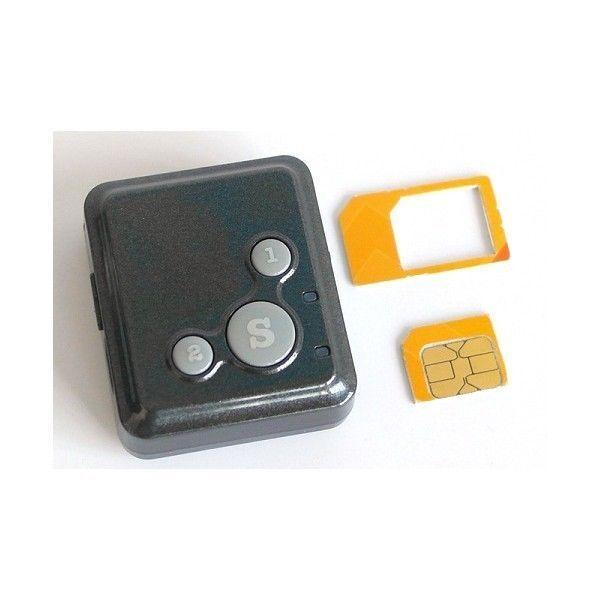Mini micro localizzatore gps tascabile telefono cellulare con tasto SOS