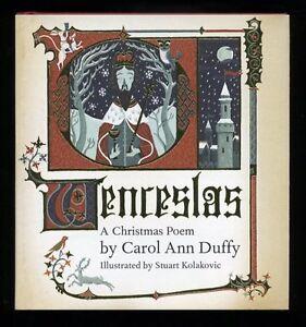 Details About Carol Ann Duffy Wenceslas A Christmas Poem Signed 1st1st
