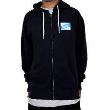 NEW Stepchild Snowboards Sucks Pullover Hooded Sweatshirt Navy Large