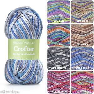 efe9aa8daa97 Sirdar Snuggly Baby Crofter Chunky Fair Isle Effect Knitting Yarn ...