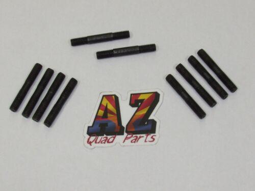 87-06 Yamaha Banshee YFZ 350 Black Head Cylinders Cylinder Piston Studs Stud Kit