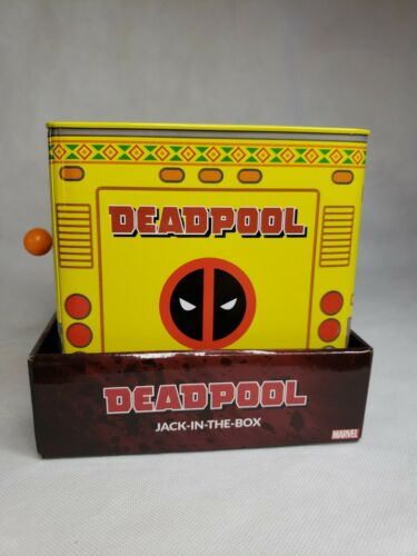 SDCC 2019 Entertainment Earth Deadpool Jack In The Box Exclusive Comi Con New