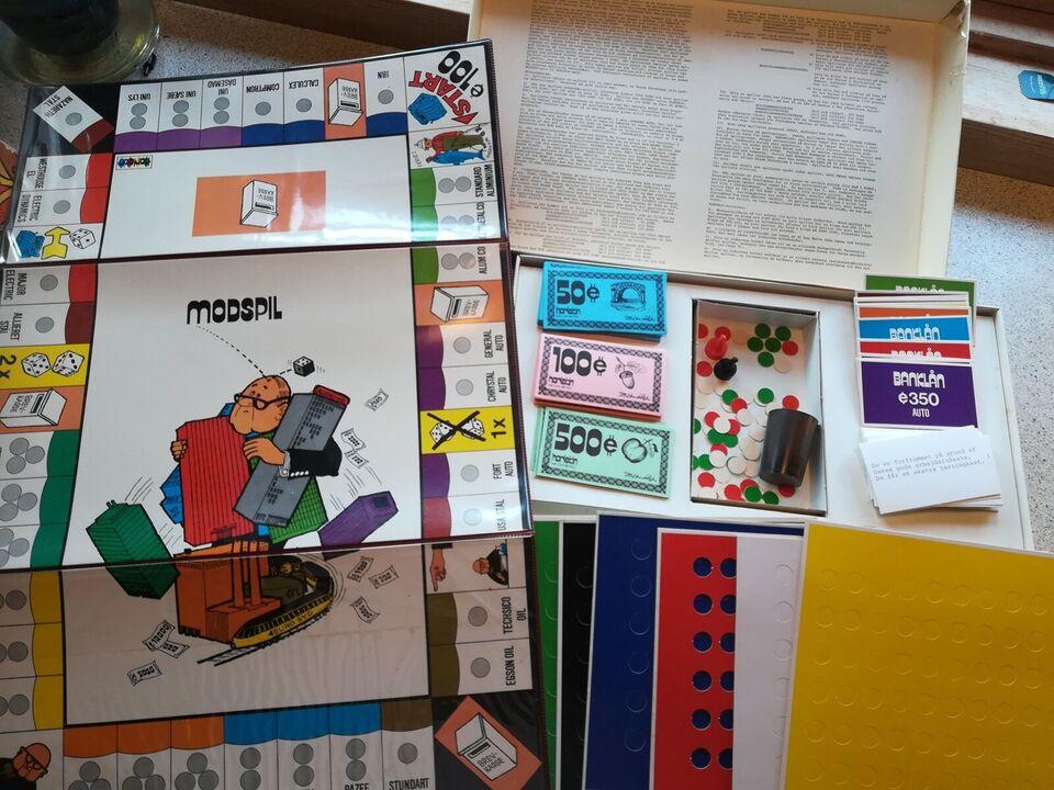 Modspil, Familiespil, brætspil