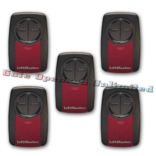 Transmitter Chamberlain KLIK1U Clicker Liftmaster 375UT 5-Pack Remote Control
