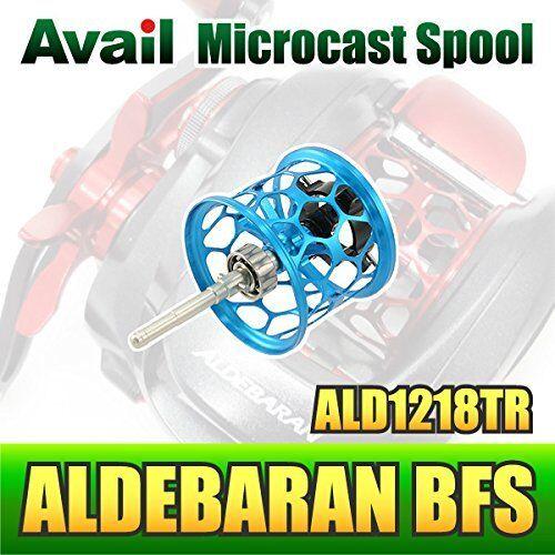 Avail SHIMANO Microcast  Honeycomb Spool ALD1218TR for 12 ALDEBARAN BFS SKY Blau