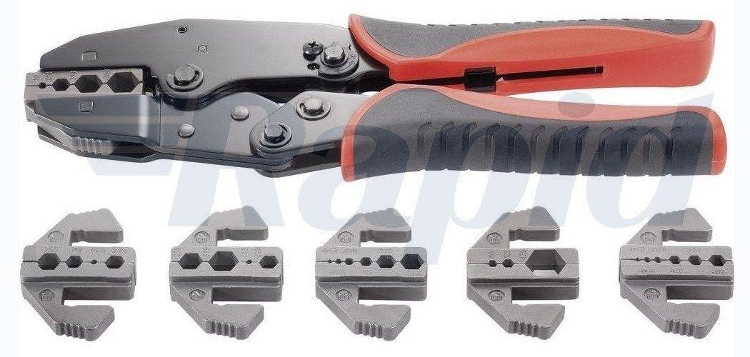 Toolcraft 818645 Crimp Tool Set 7 Piece