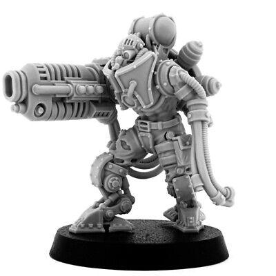 Wargame Exclusive Mechanic Maintenance Servitors 28mm