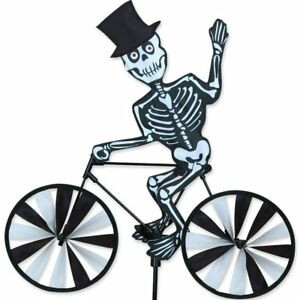 20-034-Skeleton-on-a-Bike-Spinner-Whirligig-Yard-Stake-Garden-Decor