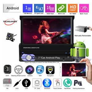 7-039-039-1-Din-GPS-Android-Autoradio-CAM-Ecran-tactile-Sans-fil-Miroir-Lien-BT-FM-Wifi
