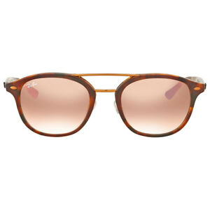 Ray Ban Pink Gradient Mirror Sunglasses