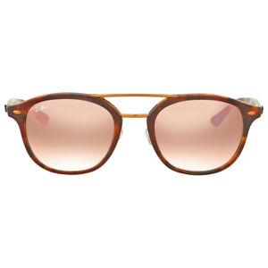 Ray Ban Pink Gradient Mirror Sunglasses