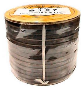 "6mm 20Ft Sewing Machine Treadle Belt~Leather 1//4/"""