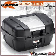 KGR52 KAPPA GARDA MONOKEY MOTORCYCLE TOP BOX 52 LTR GIVI TREKKER ALUMINIUM STYLE