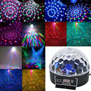 Lights & Lighting Conscientious Projector Christmas Light Effect Party Music Lamp Led Stage Light Disco Lights Ball Sound Activated Projector Light