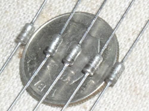 5 MOTOROLA 1N5245C 15 V VOLT ZENER DIODE DO35 500MW .5W 1//2 WATT 2/% 1N5245 USA