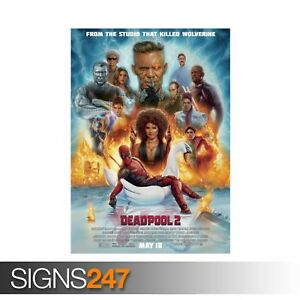 DEADPOOL-2-ZZ004-MOVIE-POSTER-Photo-Picture-Poster-Print-Art-A0-A1-A2-A3-A4