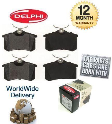 Pour PEUGEOT 307 1,4 essence 2004-2006 nouveau disque de frein arrière coussinets set oe qualité *