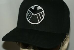 reputable site 4952e 197c8 Image is loading Agents-Of-Shield-Hat-Stark-Industries-Iron-Man-