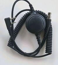 Headset Coiled Cord Kenwood 2P w/ptt Kelvar Reinforced Racing Radios Electr