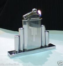 Briquet ancien Table MYON LUXIA French Vintage Desk Lighter Feuerzeug Accendino