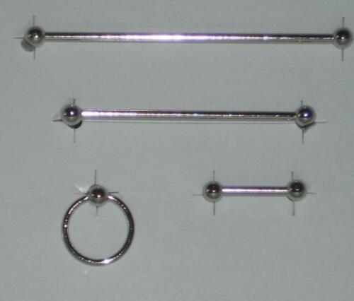 Puppenstube/Puppenhaus #01# Miniatur f Maßstab 1:12 Handtuchhalter-Set silber