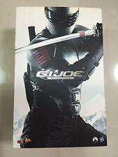 Hot Toys MMS 192 G.I. Joe Retaliation Snake Eyes Military Ninja Figure NEW