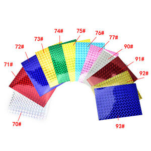 4X-10cm-X-20cm-Holographic-Adhesive-Film-Flash-Tape-For-Lure-Making-Fly
