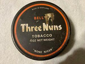 Vintage Bell/'s Three Nuns Tobacco Tin