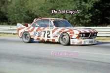 Walkinshaw & Joosen & de Wael Luigi Racing BMW 3.0 CSL Le Mans 1977 Photograph