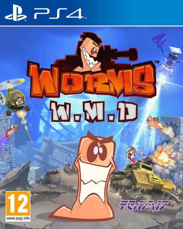 PS4 Worms: W.M.D - Weapons of Mass Destruction (brand new)
