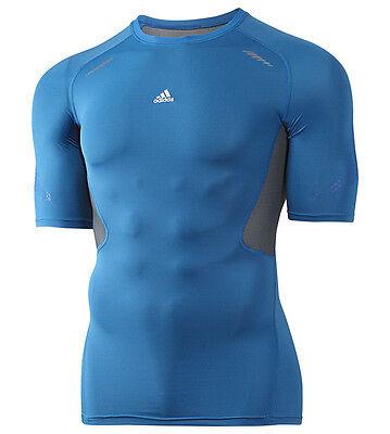 Disinteressato T-shirt Techfit Prepare Adidas Medium Compression Allenamento Palestra Running Impermeabile, Resistente Agli Urti E Antimagnetico
