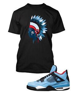 1b5536748f3755 Chieftain T Shirt to Match Travis Scott x Air Jordan 4 Cactus Jack ...