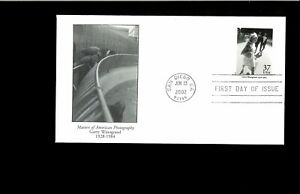 2002-First-day-Cover-Masters-of-Amer-Photo-San-Diego-CA