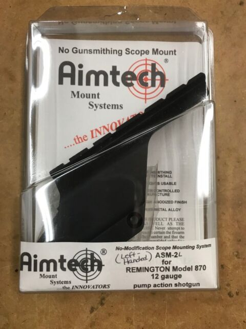 Aimtech ASM-2 shotgun scope mount red dot mount for Remington 870 12ga