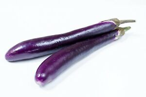 Eggplant-Long-Purple-Italian-Non-GMO-Heirloom-Vegetable-Seeds-Sow-No-GMO-USA