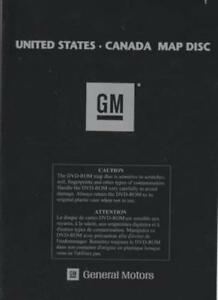 General Motors United States & Canada Map Disc DVD Navigation GM ...