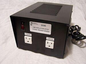 Powertronix Autotransformer Transformer AA-96575-AT Input 230V Output 115V 500VA