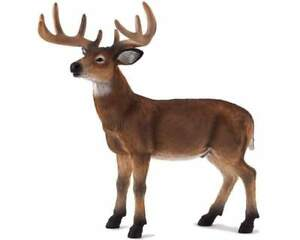 White-Tailed-Deer-Buck-Replica-387038-FREE-SHIP-USA-w-25-Mojo-Products