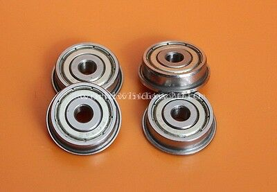 10PCS Miniature bearings F604 F605 F606 F608 F623 F624 F626 F634ZZ